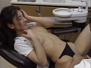 Steamy Coition On A Medical Chair