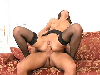 Both Holes Nailed Tart Got Creampie