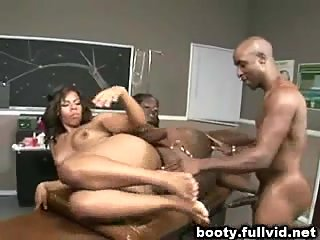 Interracial Booty Trio VS Hard Dick