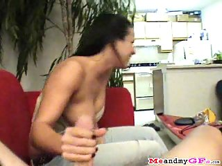 Daisy shows her blowjob talent