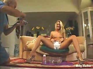 Pussy shaving before hard fucking