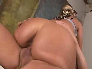 Booty Blonde Ass Fucked & Creamed