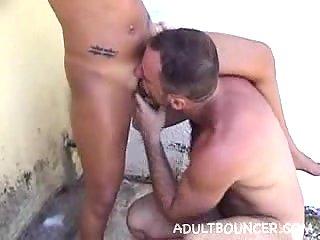 Kinky bitch cummed after anal fuck
