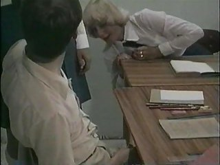 Lucky Teacher Gets Involved Into Bi Orgy