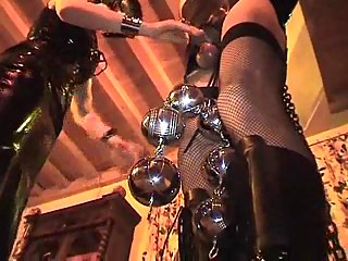 Horny mistress loves hard domination
