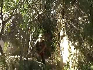 Gay anal sex outdoor