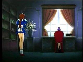 Anime bondage girl toyed