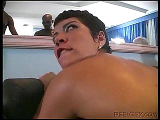 Samantha&Angelica in dirty group fuck
