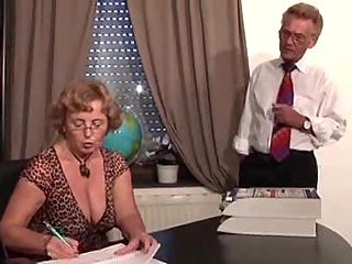 Dirty Office Sex Lustful Old Men