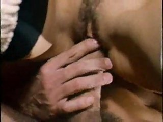 Vintage  Sexy Lady Hot Caressing Male