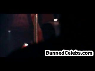 Linday Lohan dancing in strip club