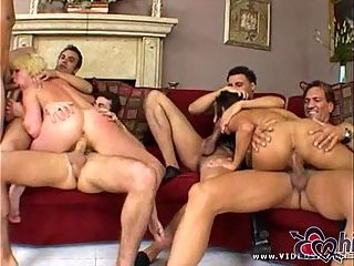 Jasmine and Missy get fucked by four guys