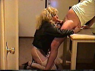 Crossdresser trinity loves sucking cock