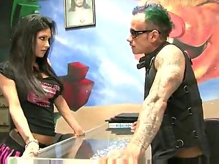 Busty Doll Gets Pierced Twat Pounded Before Cum Taking