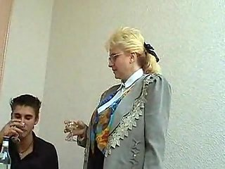 Lewd Mom Gets Nailed In Office