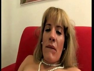 Raunchy Blonde With Big Boobs Riding Till Spooge