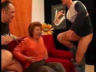 Crazy Old Woman Fucking Dicks