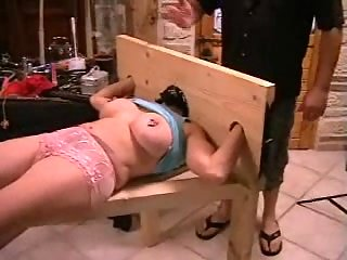 BDSM & deep fisting for blond mature