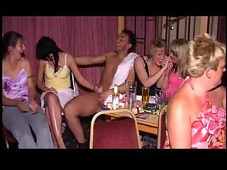 Stripper gives girls to suck his cock
