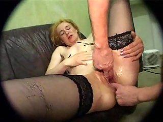Wild bound woman tortured