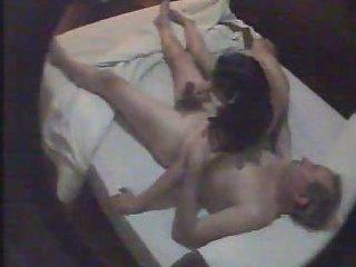 Amateur oral sex on hidden cam