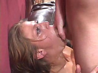 Messy Deep Throat Session From Porn Star