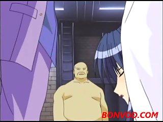Hentai blowjob & hardcore
