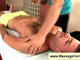 Massage from a gay dude