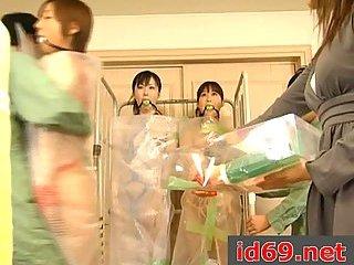 Japanese sluts in bondage
