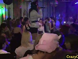 Party girls fucked by strippers