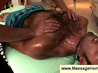 Sensual massage for a gay dude