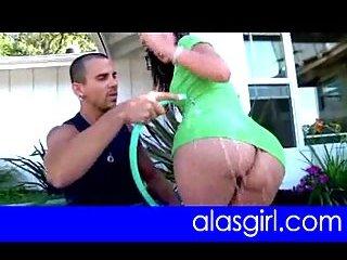Alexis Breeze Rump exposing her butt
