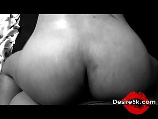 Amateur booty skank banged from behind
