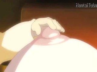 Hentai girl gives head
