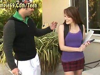 Hot Teen Slut Gets Big Cock