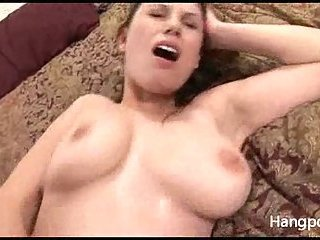 Sexy Girl With Big Melons Drilled
