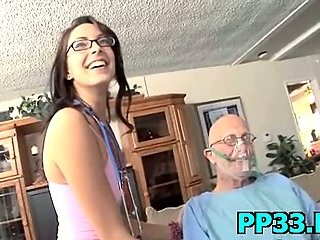 Slut pounded by a big dick