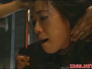 Japanese chick penetrated from behind