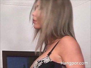 Sexy bitch having hard interracial sex