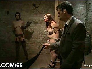 Dominated sluts toyed