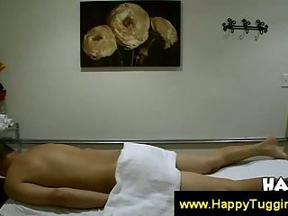 Asian masseuse massage naked client video — pic 7