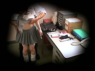 Schoolgirl caught stealing blackmailed scene 1