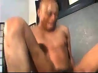 Ebony guy calls his bf to have anal sex