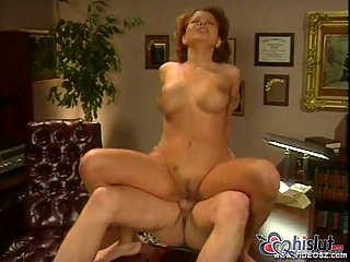 Gina Ryder drilling in office