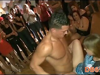 Real fuck at club during party