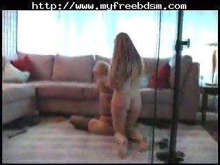 Facesitting bdsm bondage slave