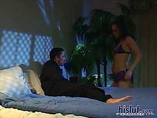 Cytherea takes cum & swallows it