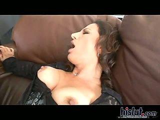 Melissa Monet fucked by black cock