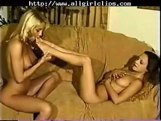 Tongues Touch Feet Lesbians