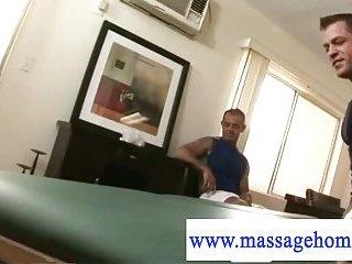 John Marcus pornstar gets a muscled masseur